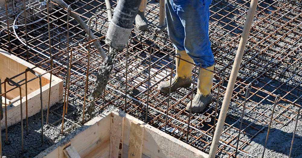 beton armat pentru fundatie si stalpi