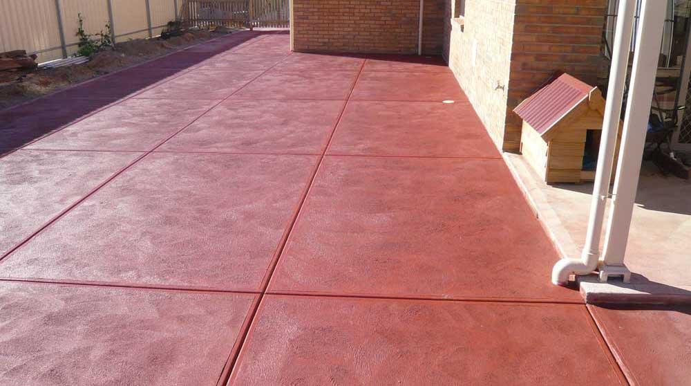 beton colorat total in masa cu pigment lichid