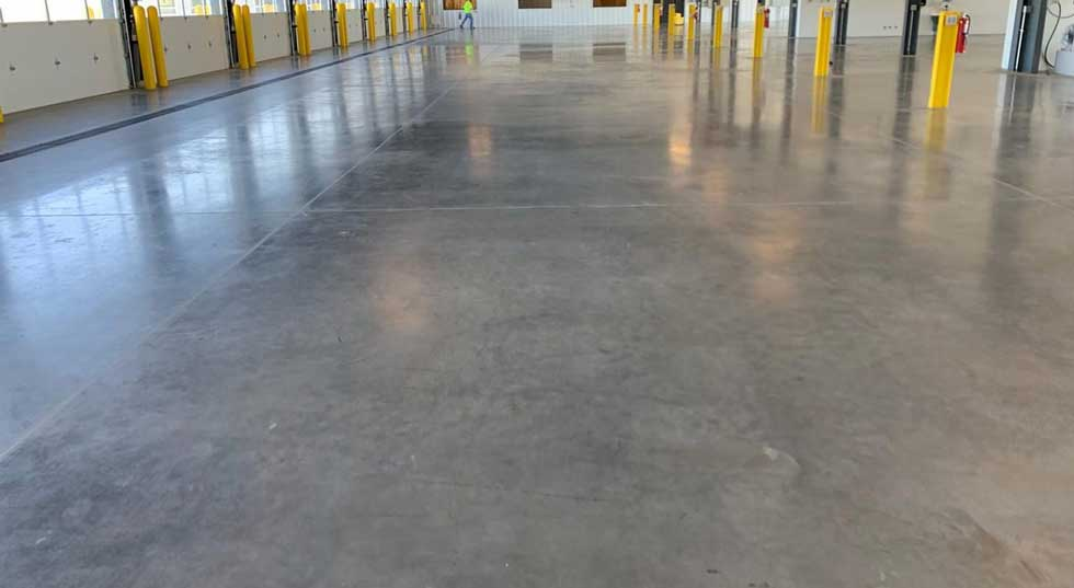 beton elicopterizat colorat cu cuart coridon