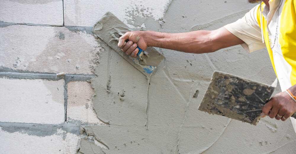 tencuiala manuala pentru perete si zid