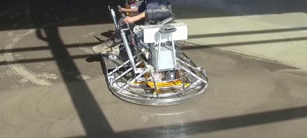 elicopterizare sapa din beton im regim mecanizat, cu dubla