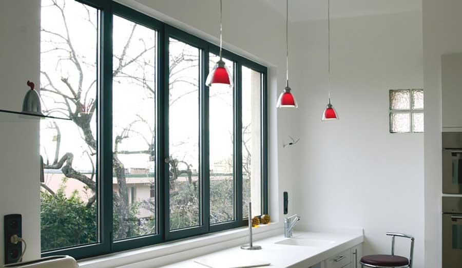 fereastra din aluminiu moderna