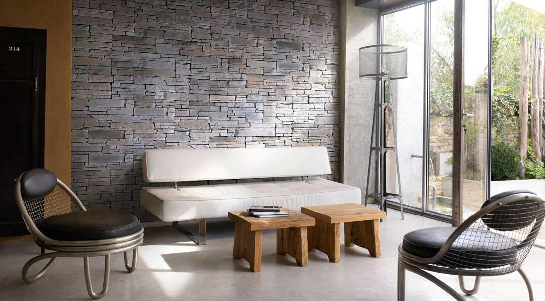 perete decorativ salon