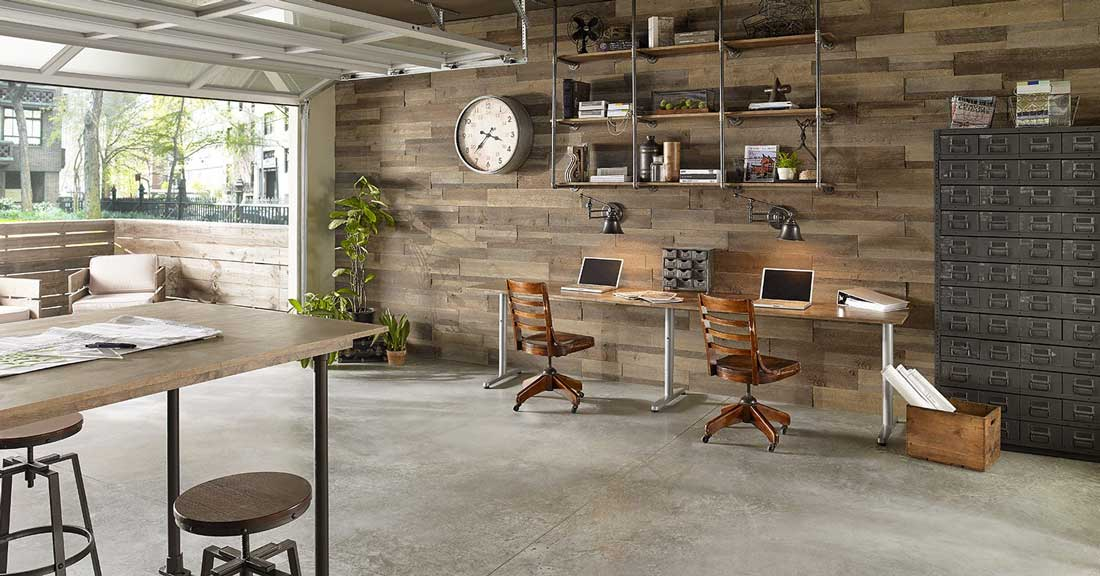 perete din lemn