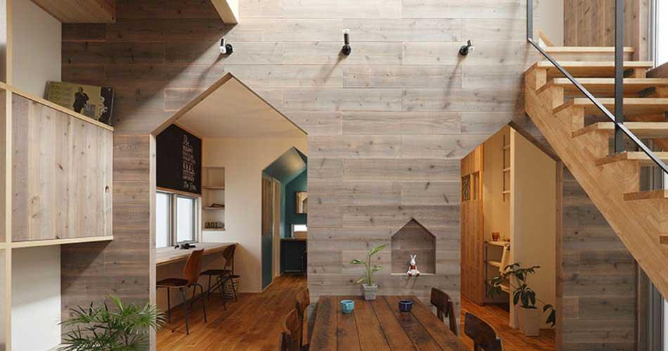 perete lemn decorativ