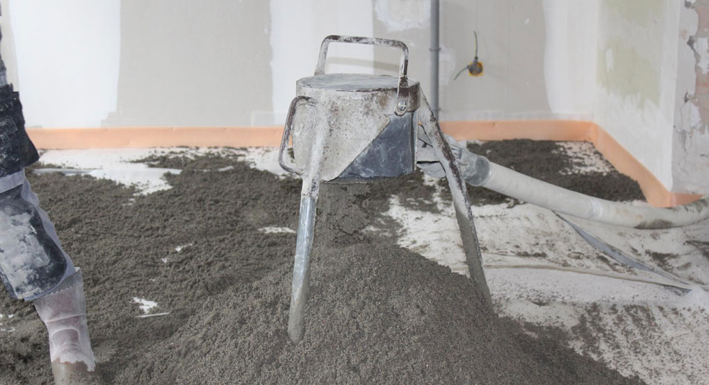 pompare mortar semiumed pentru sapa