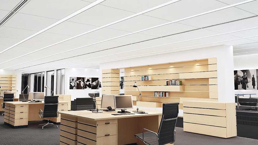 tavan casetat pentru birouri