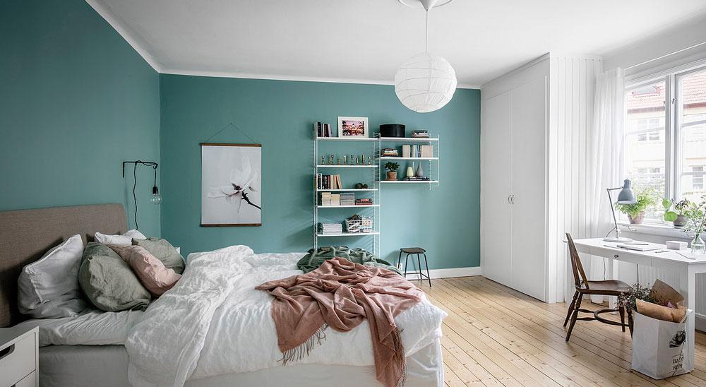 zugravire pereti si tavan dormitor