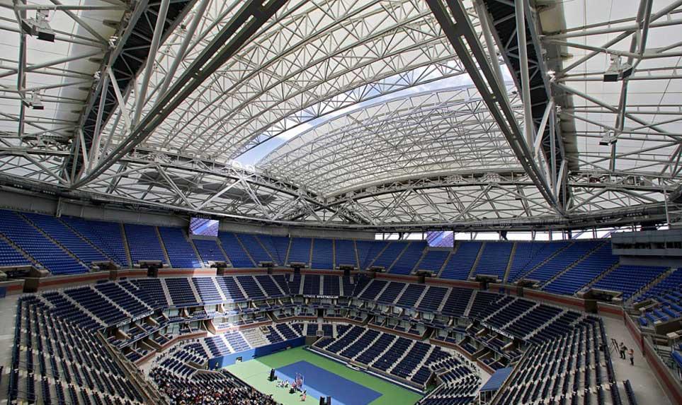 acoperis retractabil pentru teren sportiv