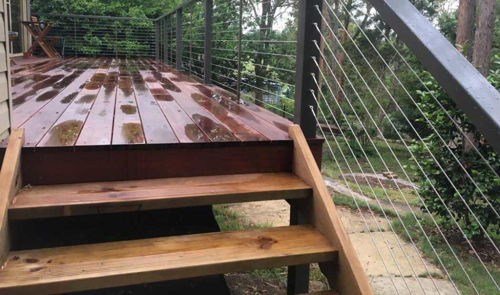 montaj scari de exterior din fag sau stejar