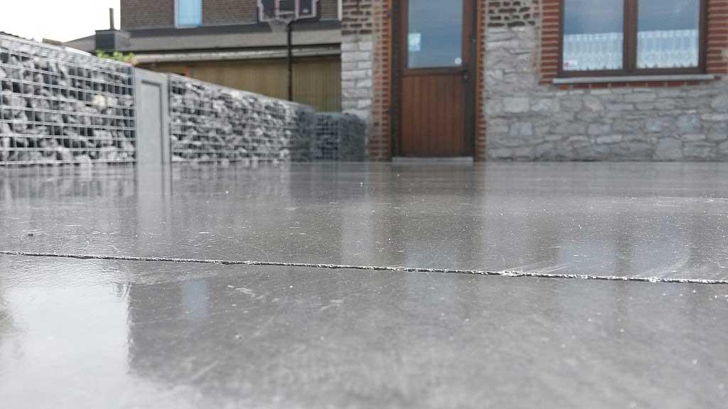 pardoseala exterioara din beton
