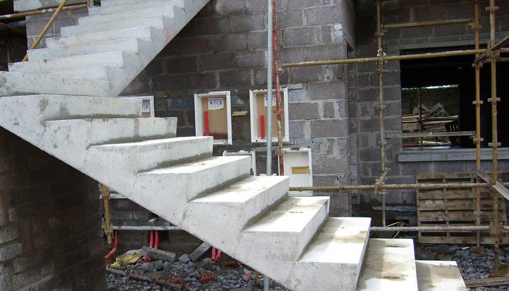 scara din beton prefabricat