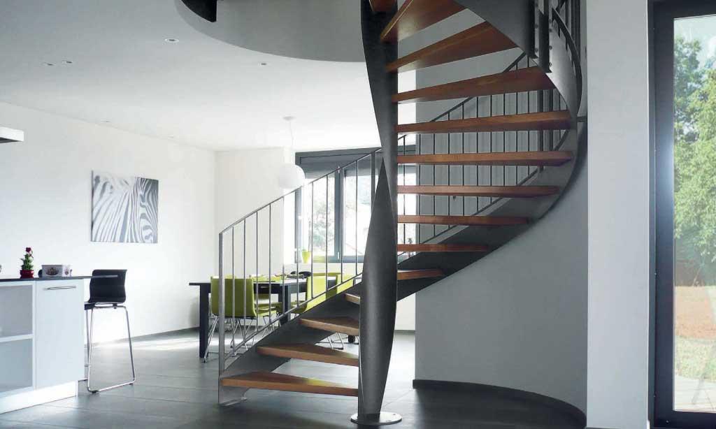 scara spirala pentru interior