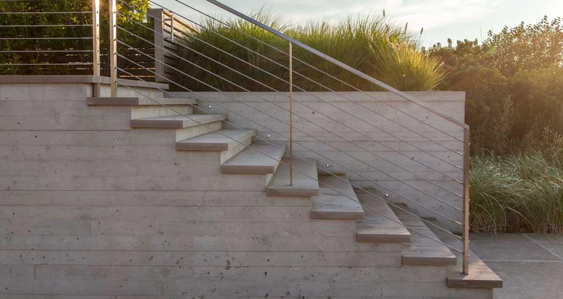 scari din beton exterioare