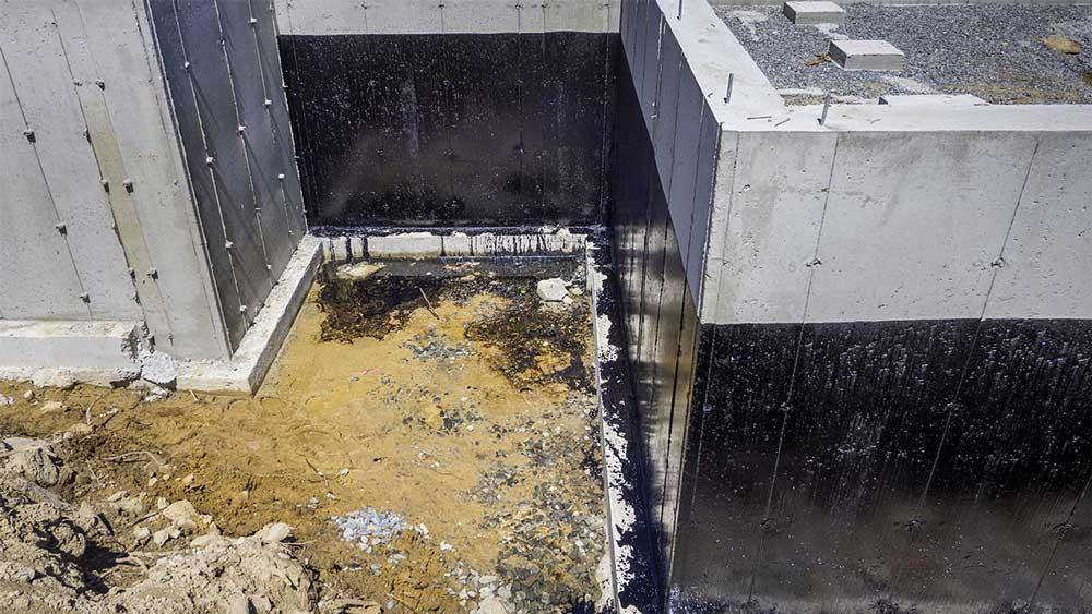 hidroizolare fundatie pe exterior