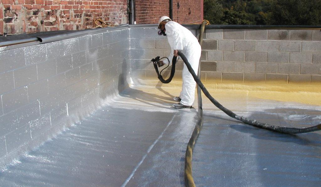aplicare hidroizolatie lichida poliuretanica prin proiectare