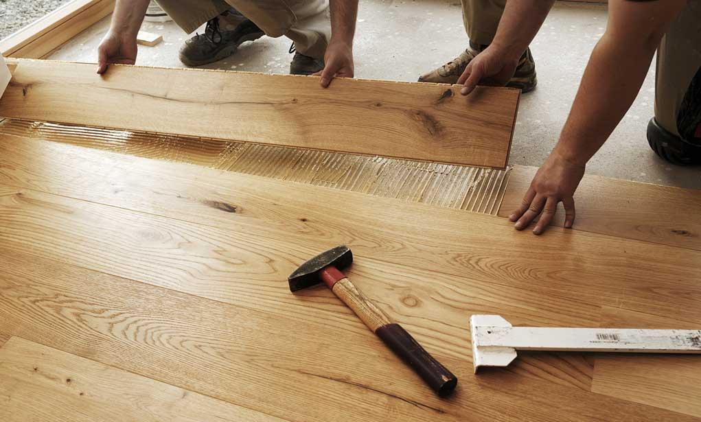 montaj pardoseala din lemn