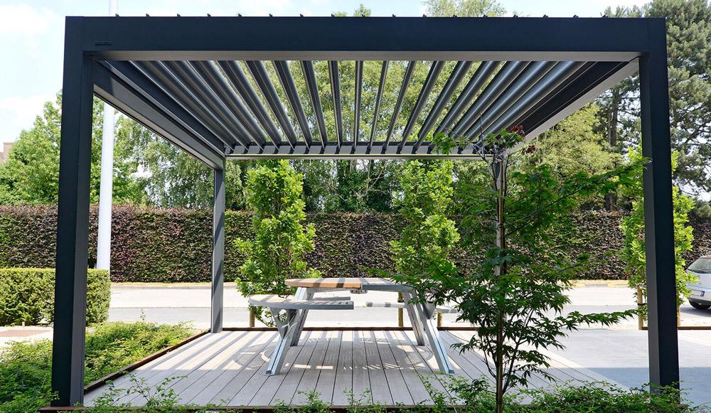 pergola metalica pentru terasa