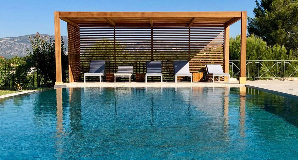 pergola piscina