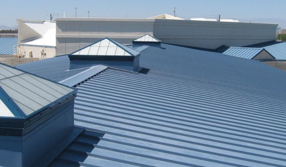 acoperis pentru hala din metal - aluminiu
