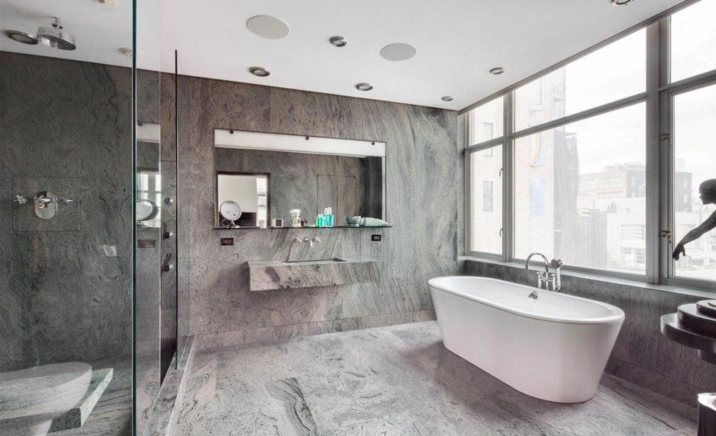 amenajare baie de lux