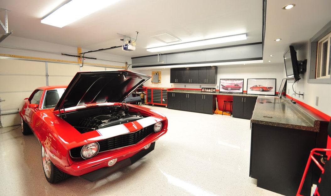amenajare garaj modern