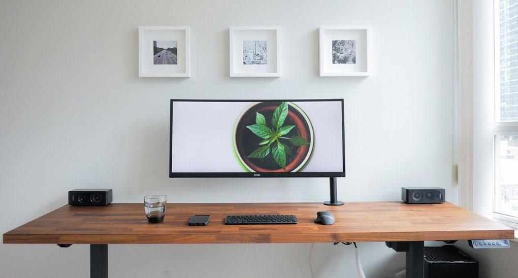 birou minimalist