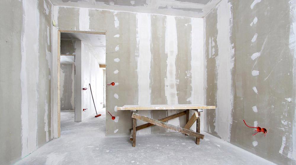 renovare si construire perete din gips carton