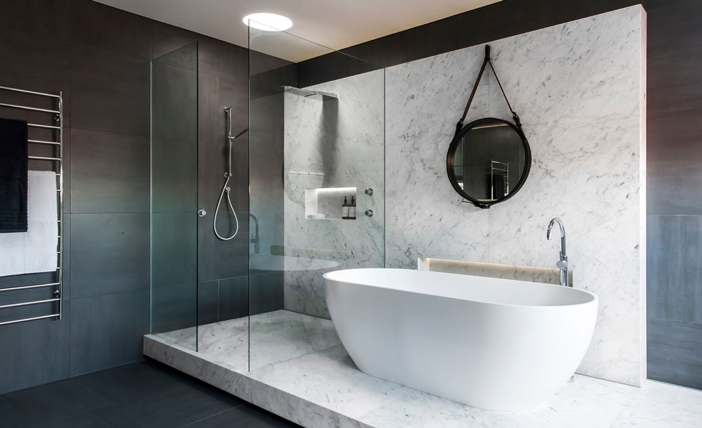design pentru baie clasica de lux