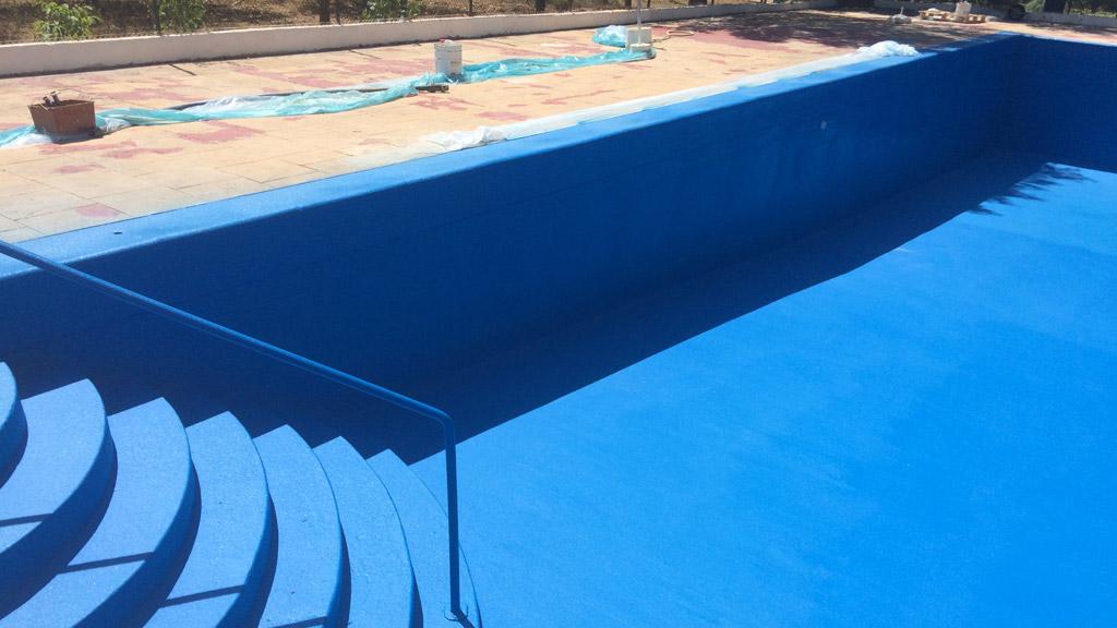 hidroizolare piscina cu vopsea poliuretanica