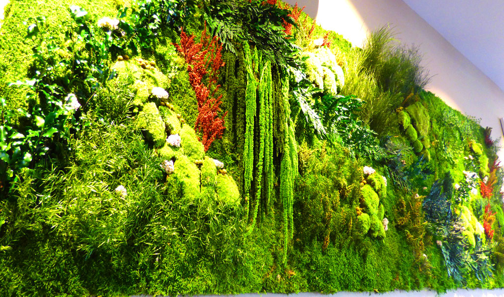 pereti vegetali