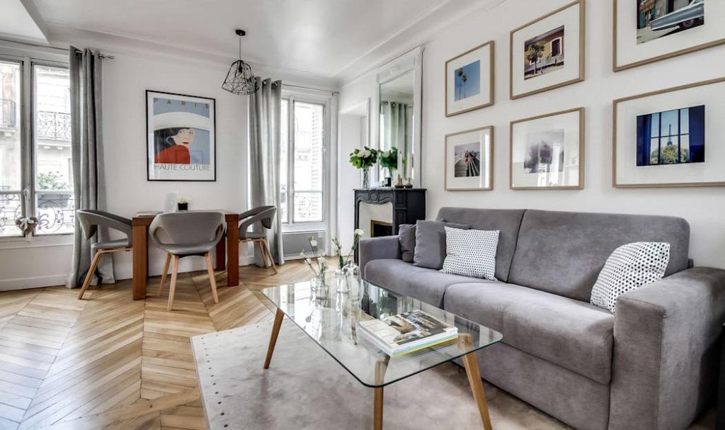 renovare living apartament