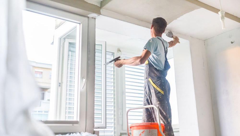 renovare perete interior