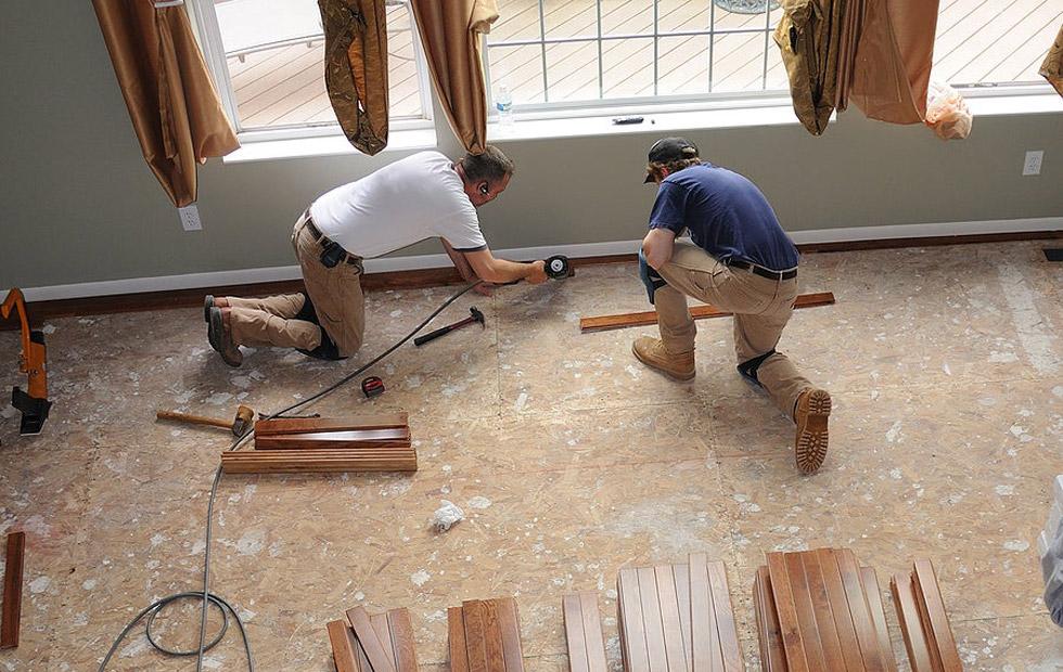 renovari in dormitor (pardoseala)