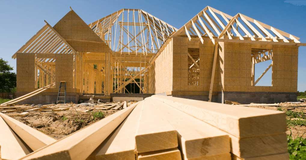 casa din lemn cu panouri prefabricate