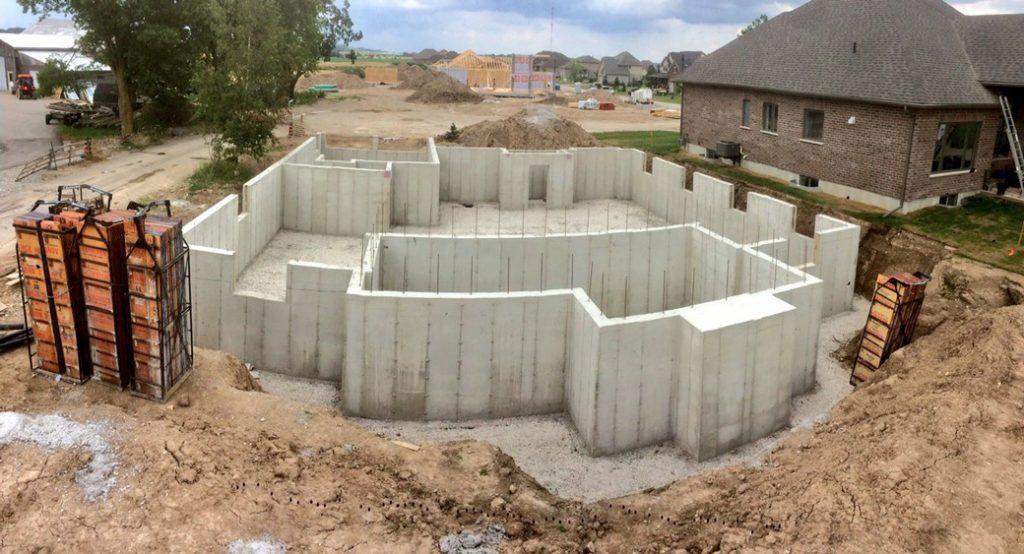 constructie fundatie casa cu subsol