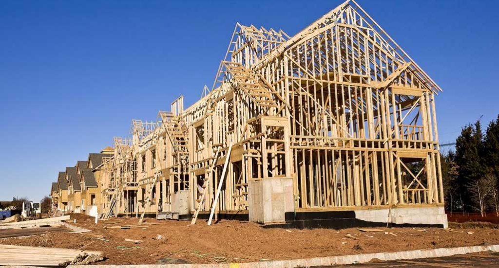 constructii case pe structura din lemn