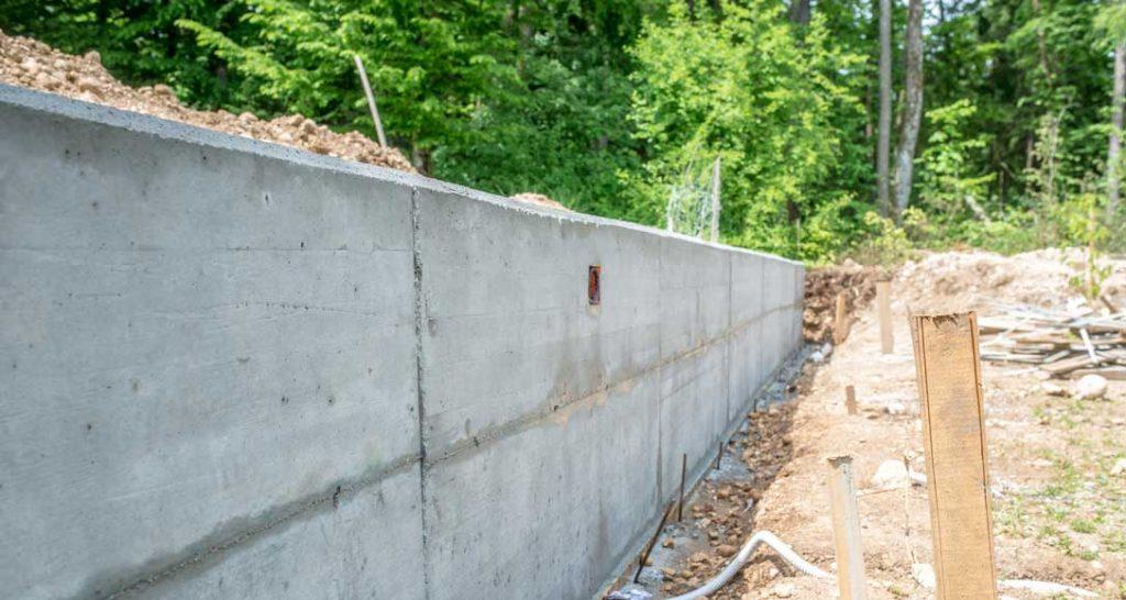 construire fundatie gard