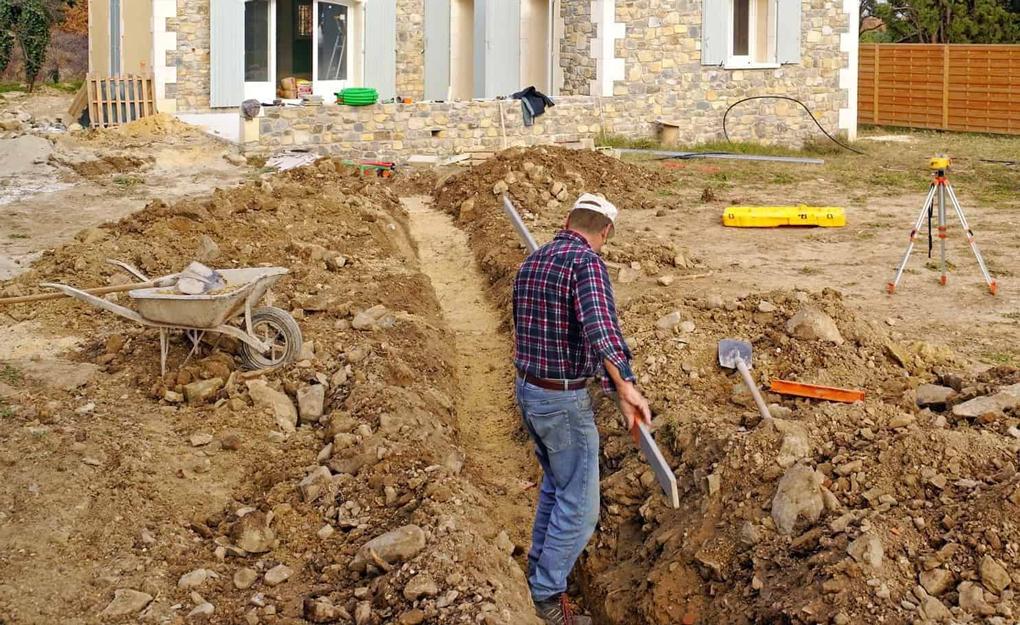 excavare sol pentru fosa septica
