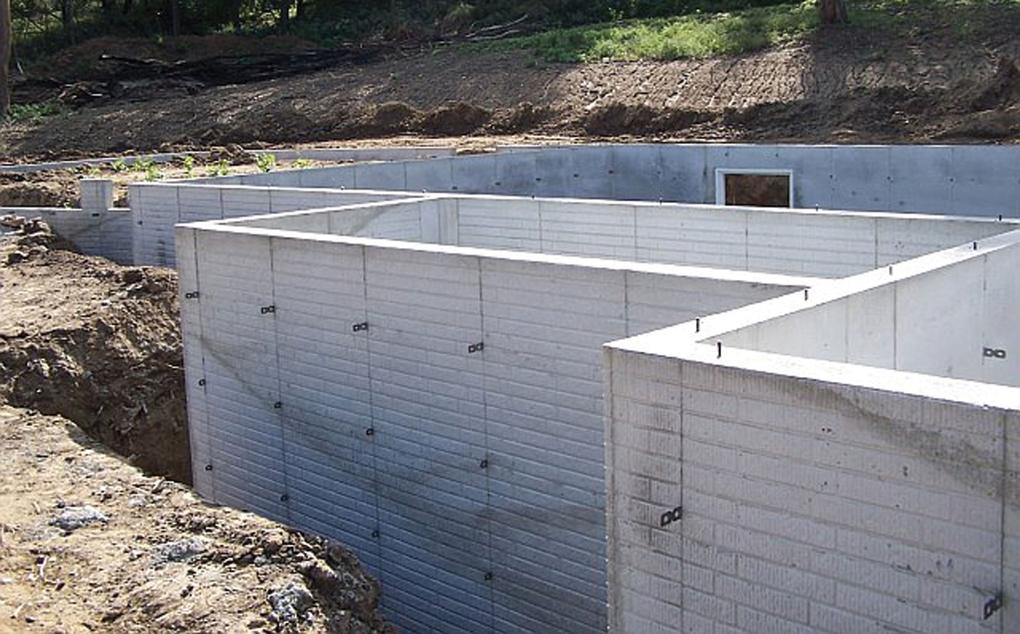 construire fundatie beci din beton
