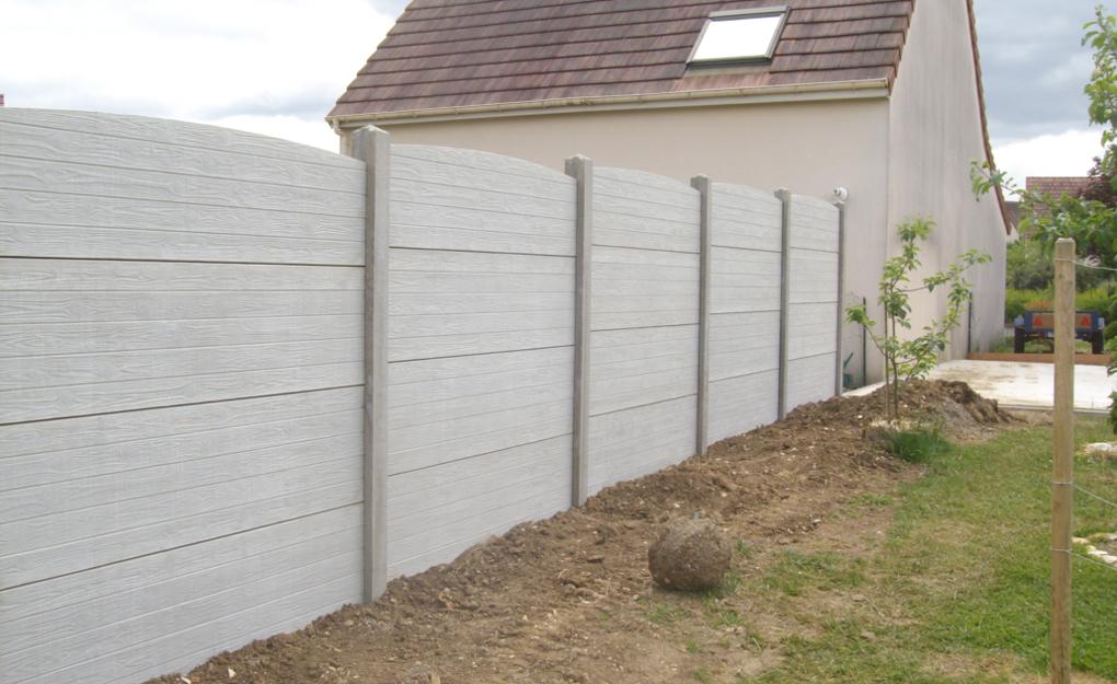 montaj gard prefabricat