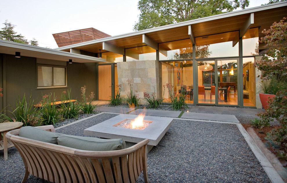 gradina stil modern