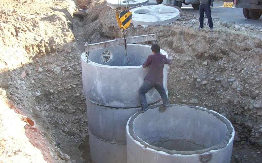 montaj fosa septica din beton