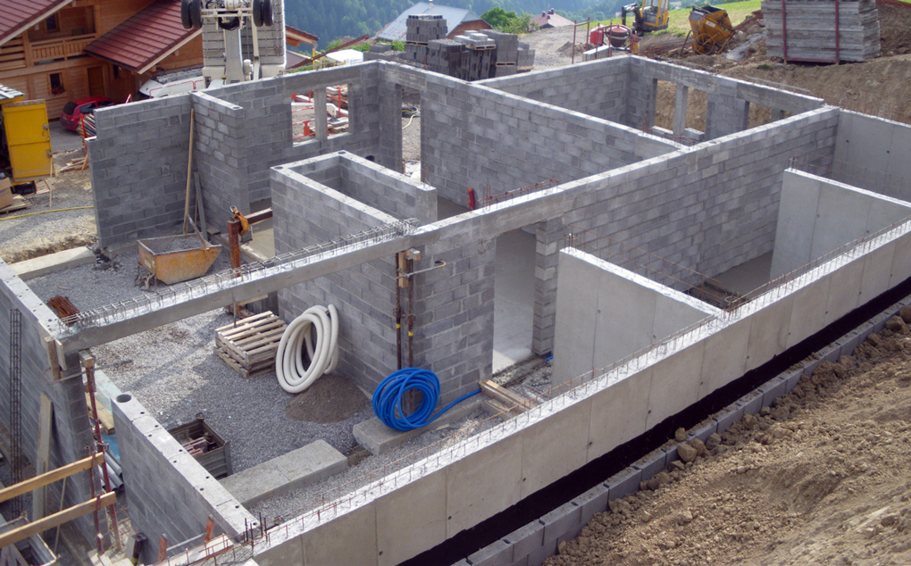 zid portant din beton armat