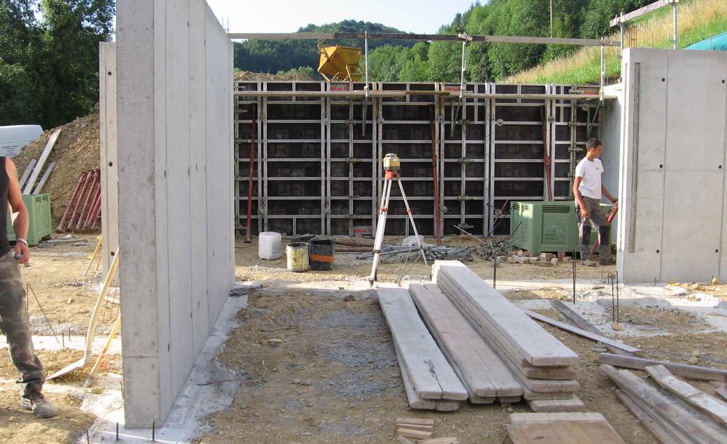 zidarie beton armat