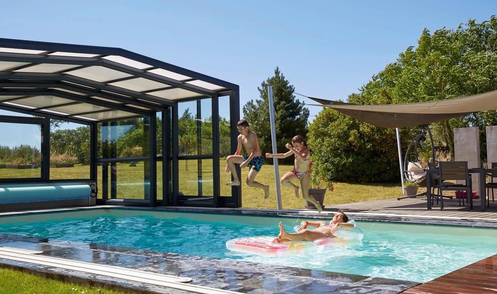 acoperis piscina din sticla