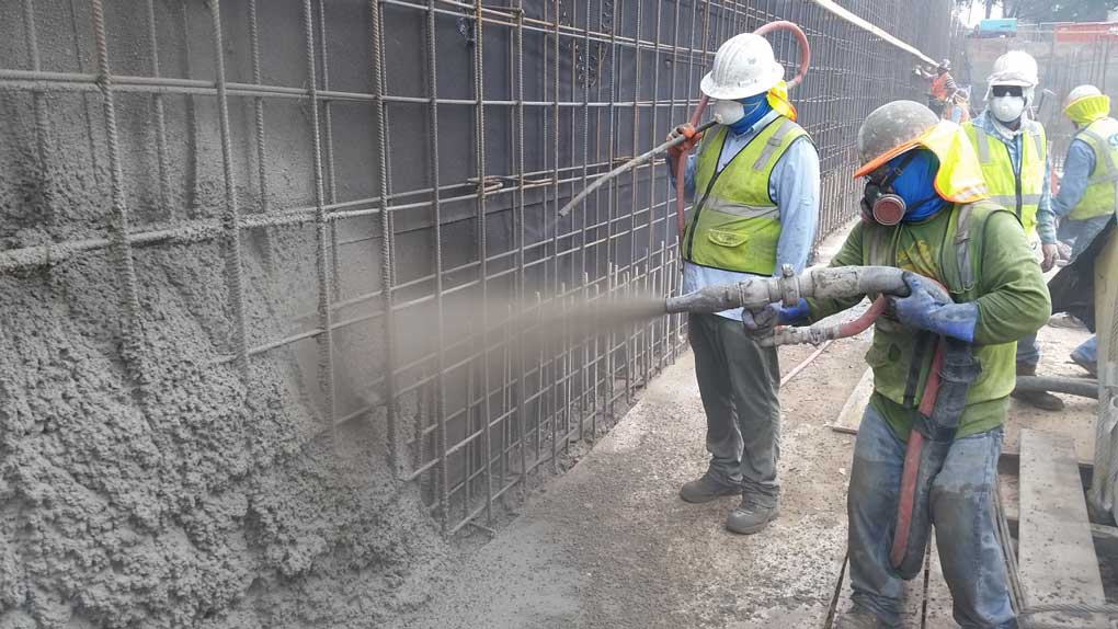 torcretare beton