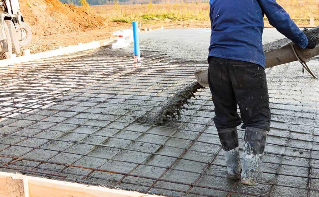 turnare placa din beton