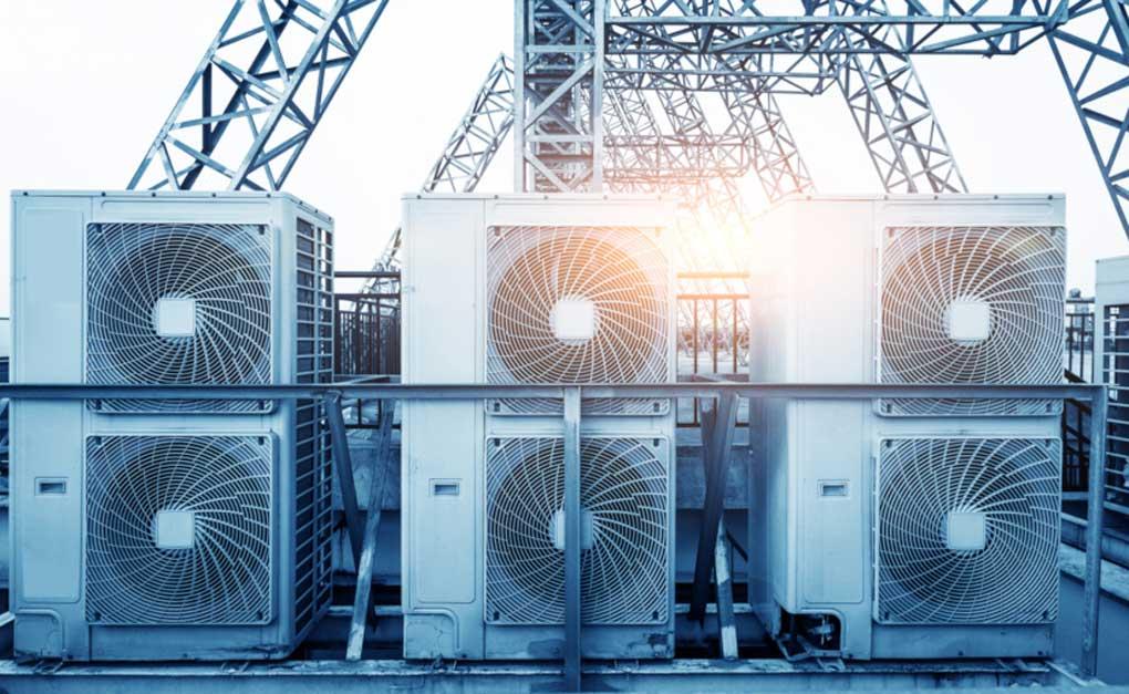sistem de ventilatie pentru uz industrial