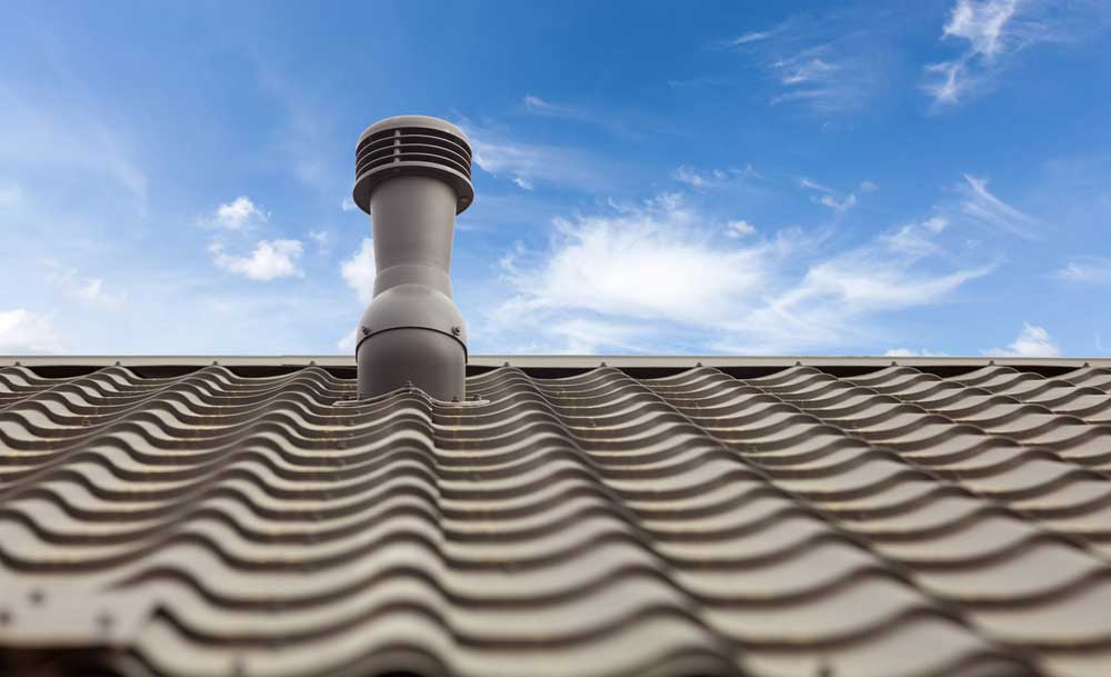 ventilatia acoperisului casei